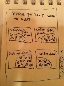Pizzas you don't want to meet