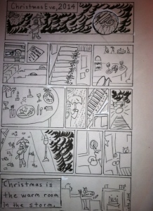 Xmas eve comic complete